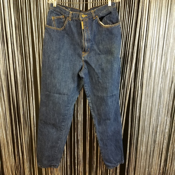 Vintage Denim - Vintage plus PS Gitano dark blue mom jeans